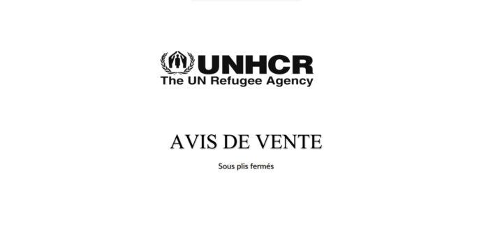 UNHCR : Avis de vente de véhicule